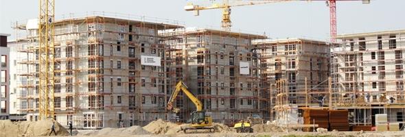 Neues Stadtviertel entsteht.